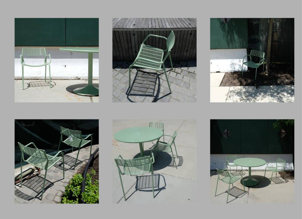 Chairs, Hudson Yards Park, Stühle, Park, Janine Rahn, rahnphotography