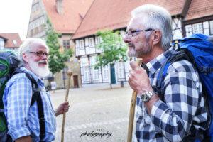 Pilgerer aus Werne, pilgern, Jakobsweg, Fotowalk in Werne